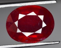 7.25 CT NATURAL AFRICAN RUBY GEMSTONE
