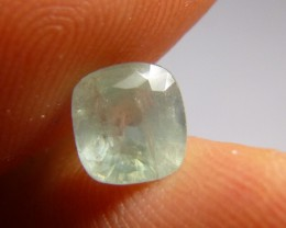 1.73ct  Green Ceylon Sapphire , 100% Natural Untreated Gemstone