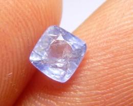 0.86ct Blue Ceylon Sapphire , 100% Natural Untreated Gemstone