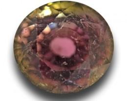 Natural Green - Orange Pink Tourmaline  Loose Gemstone New  Sri Lanka