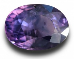 Natural Violetish Purple sapphire |Loose Gemstone|New| Sri Lanka