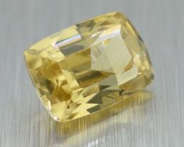Natural Attractive ViVID Yellow Srilankan Zircon 1.55 ct (01167)