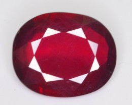 7.75 CT NATURAL AFRICAN RUBY GEMSTONE