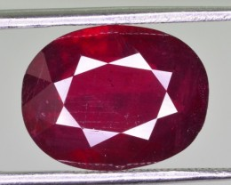 6.80 Ct Brilliant Color Natural African Ruby