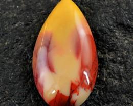 Genuine 32.00 Cts Pear Shape Mookaite Cab