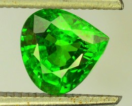 0.95 ct Natural Green Tsavorite Garnet