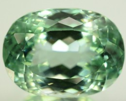 19.45 ct Greenish Spodumene Gemstone