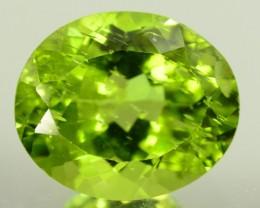 6.35 cts Natural Olivine Green Natural Peridot Gemstone