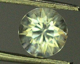 GiL Certified 1.33 ct Natural White Zircon Combodia