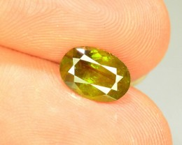 Natural Sphene 1.235 ct Great Color Dispersion