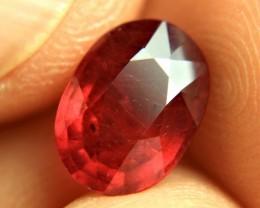 3.74 Carat Fiery Ruby - Gorgeous