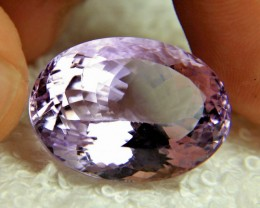 32.85 Carat Vibrant Purple VVS Brazil Amethyst - Superb