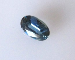 0.77cts Natural Australian Blue Sapphire Oval Shape