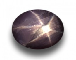 Natural purple star sapphire |Loose Gemstone|New| Sri Lanka