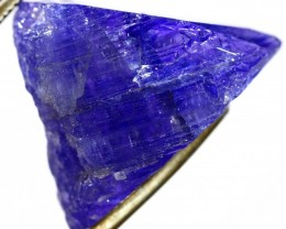 31.05 CTS QUALITY TANZANITE CRYSTAL SPECIMEN  [STS674]SAFE