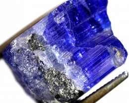 22.25 CTS QUALITY TANZANITE CRYSTAL SPECIMEN  [STS677]SAFE