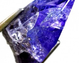 12.70 CTS QUALITY TANZANITE CRYSTAL SPECIMEN  [STS678]SAFE