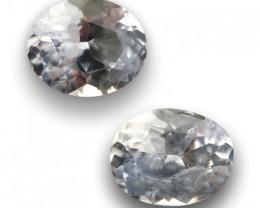 Natural White sapphire  Loose Gemstone New Certified  Sri Lanka