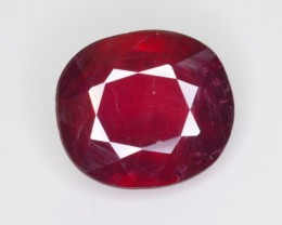 5.95 CT NATURAL AFRICAN RUBY GEMSTONE