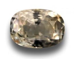 Natural light yellow sapphire |Loose Gemstone|New Certified| Sri Lanka