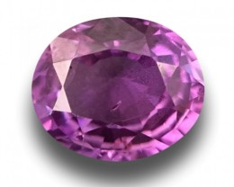 Natural Pinkish Purple Pink Purple Sapphire |Certified| Sri Lanka