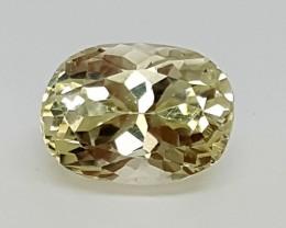 4.40 Crt Natural  yellow KUNZITE  Gemstone   j-66