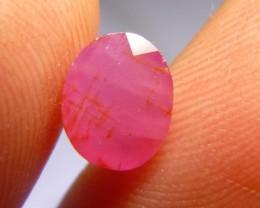 2.60cts Natural Ruby , 100% Natural Gemstone