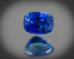 CGJ Sapphire 6 x 4 mm  0.93 ct Sri Lanka