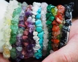 12 Beautiful Gemstone bracelet PPP 1313