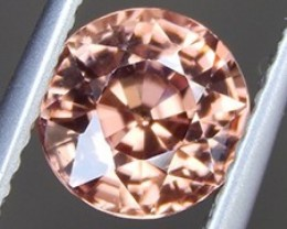 1.87cts, Orange Zircon,  Natural Stone, Unheated