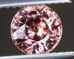 2.18cts,  Zircon,  Natural Stone, Unheated, Calibrated