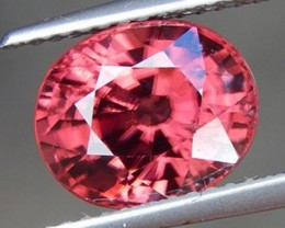 4.75cts, Pink Zircon, Calibrated, Unheated, VVS1