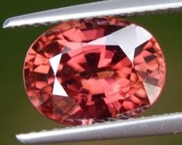 5.00cts, Pink Zircon,  Natural Stone, Unheated, VVS1