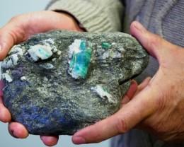 Australian Emerald Specimens