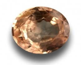 Natural Pinkish Yellow sapphire |Loose Gemstone|New| Sri Lanka