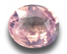 Natural Unheated Orangish Pink Sapphire| Sri Lanka - New