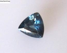 0.62cts Natural Australian Blue Sapphire Trillion Shape