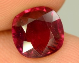 2.55 ct Natural Red Rhodolite Garnet