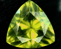 2.45 carats Flawless Untreated Peridot from Supat Pakistan