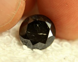 4.35 Carat Steel Gray Diamond - Gorgeous