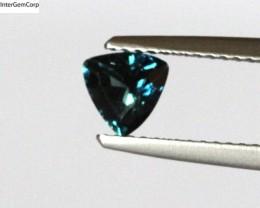 0.68cts Natural Australian Blue Sapphire Trillion Shape