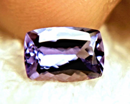 1.24 Carat Vibrant Purple / Blue VVS1 Tanzanite - Superb