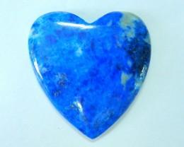 Natural Lapis Lazuli Heart Cabochon,38x37x6mm,72ct(17061303)