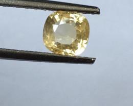 Natural Yellow Sapphire  Certified   Loose Gemstone   Sri Lanka - New