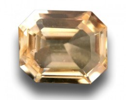 Natural Unheated Yellow Sapphire|Loose Gemstone|Ceylon - New
