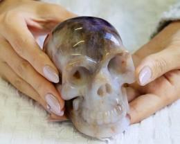4 Inch Amethyst Skull  PPP 13239