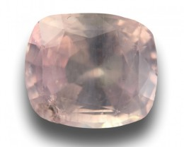 7.49 CTS | Natural Pinkish Yellow Sapphire |Loose Gemstone|New| Sri Lanka