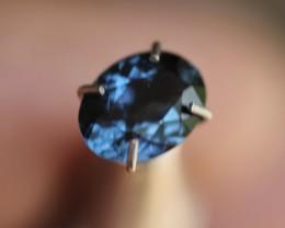1.05 ct royal blue to violet color change spinel.