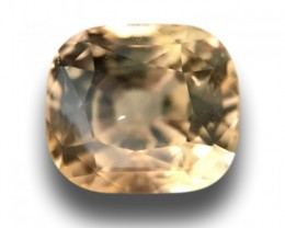 Natural Unheated Yellow Sapphire|Loose Gemstone| Ceylon - New