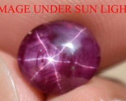 3.10 Ct Star Ruby CERTIFIED Beautiful Natural Unheated & Untreated